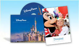 DVD Gratis para planear tus vacaciones en el Disneyland Resort